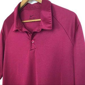 Nike Dri-Fit Men's Polo Shirt Size Large